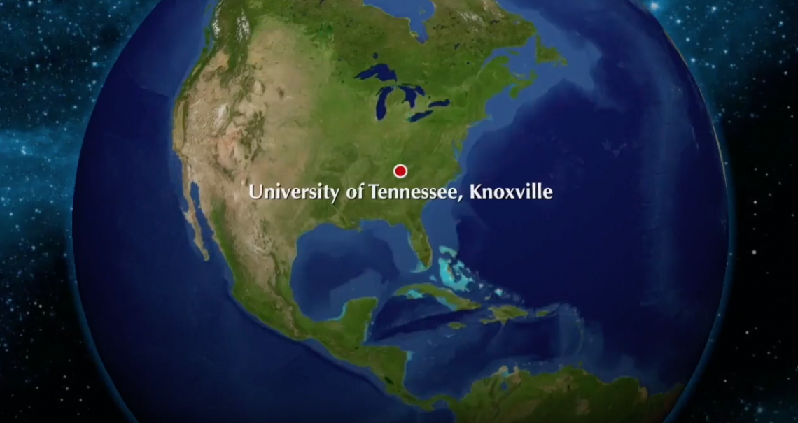 Start from Knoxville, TN to the East Siberian Sea.